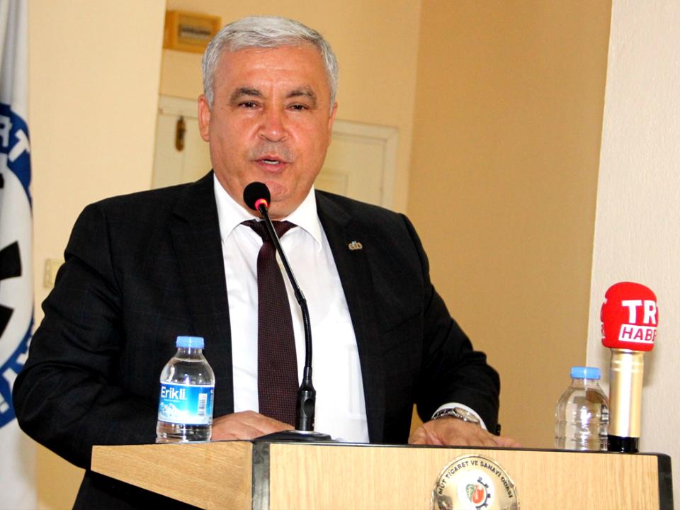 Ege Zeytin ve Zeytinyağı İhracatçıları Birliği Başkanı Er, Mut Zeytininde Hiç İlaç Yok