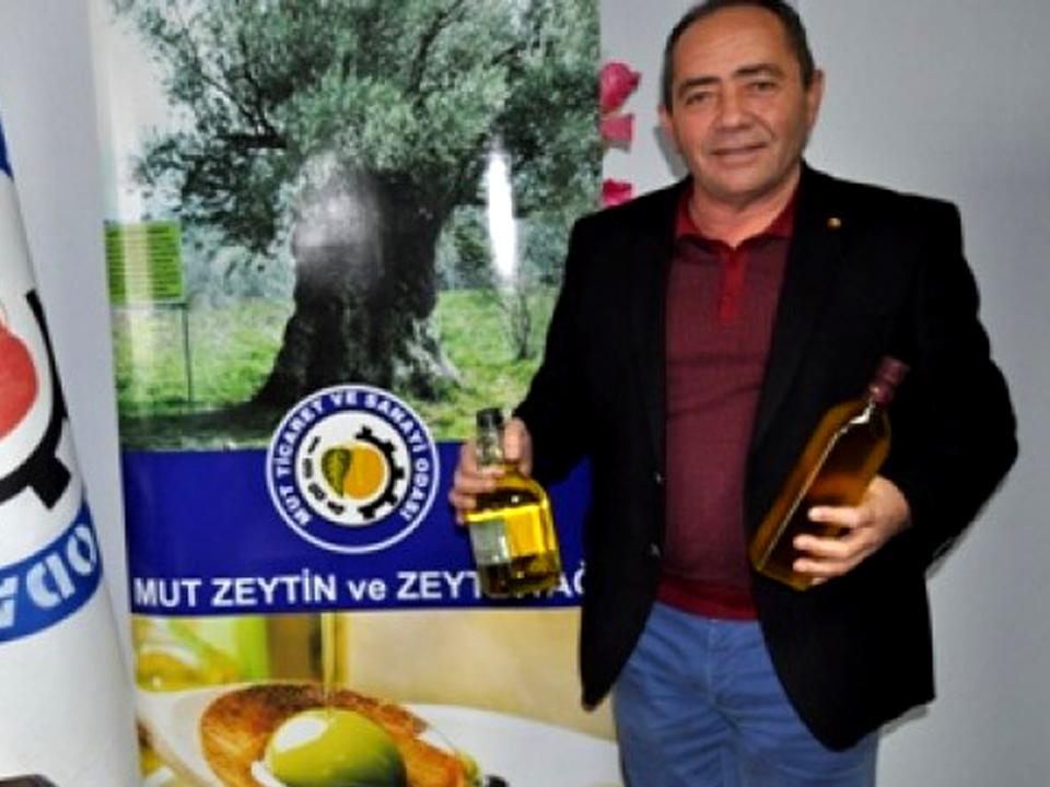 """Gürsel Aydın: """"Sağlık Zeytinden, Zeytin Mut' tan."""""""