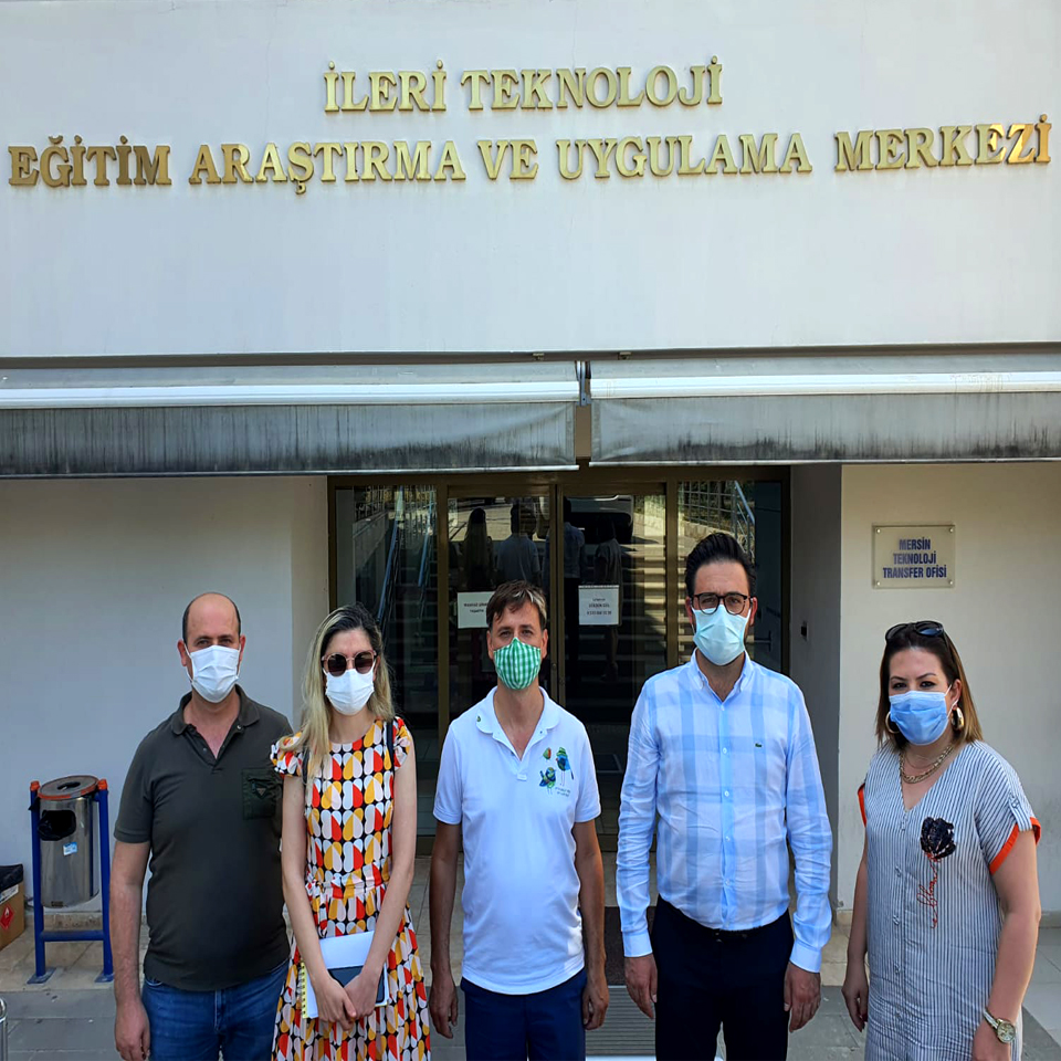 MEITAM - Mersin Üniversitesi İleri Teknoloji Merkezi' nde Mut Zeytinyağı İle İlgili Toplantı Yapıldı