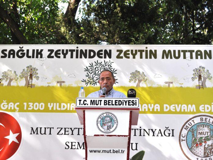 Başkan Aydın: Ayvalık Zeytin Türü Mut' a Ait