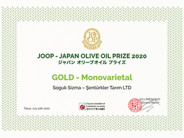 Japonya' dan Mut Zeytinyağı' na Altın Madalya